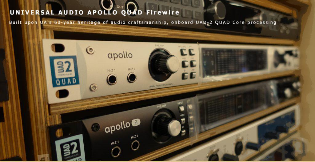 Universal Audio Apollo Quad Firewire Content