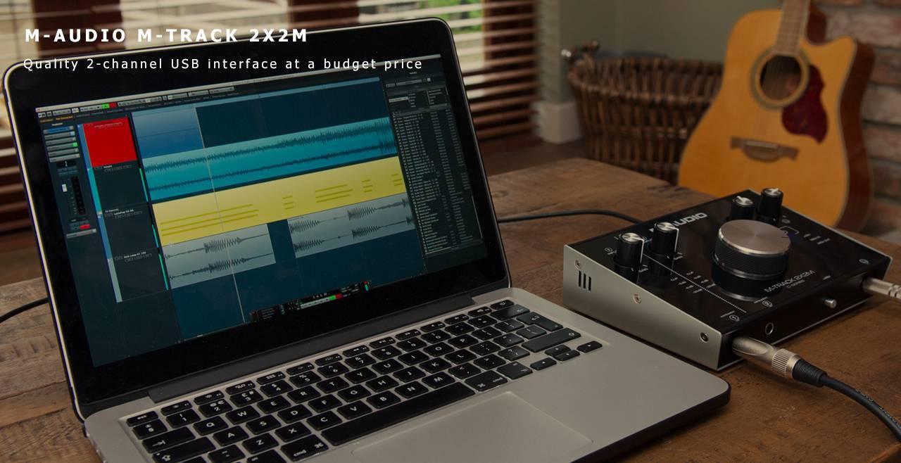 M-Audio M-Track 2x2M Content
