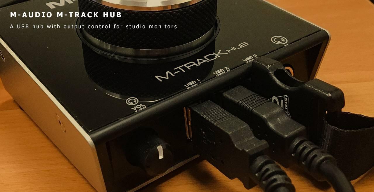 M-Audio M-Track HUB Content