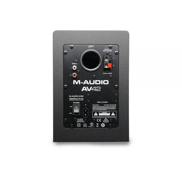 M-Audio Studiophile AV 42 Back