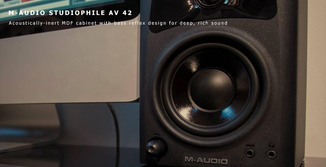 M-Audio Studiophile AV 42 Content
