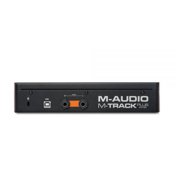 M-audio M-Track MK2 Back
