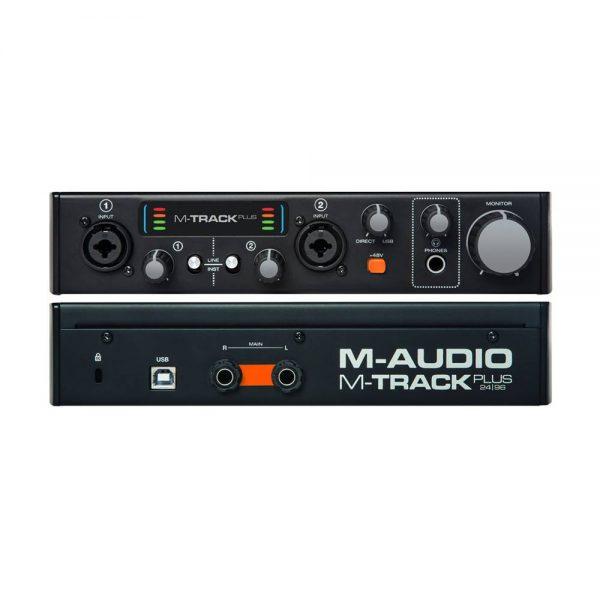 M-audio M-Track MK2 Front & Back