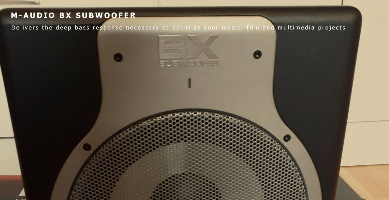 M-Audio BX Subwoofer Content
