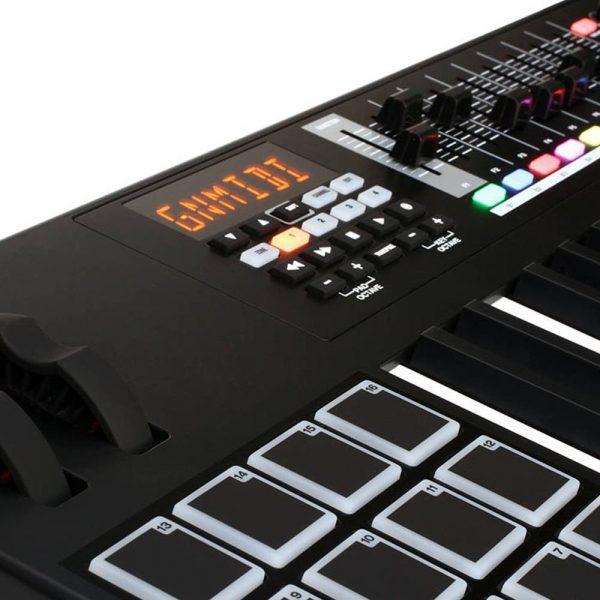 M-Audio CODE 49 Black Edition Zoom Left