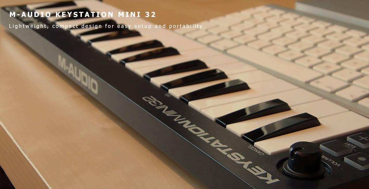 M-Audio Keystation Mini 32 Content