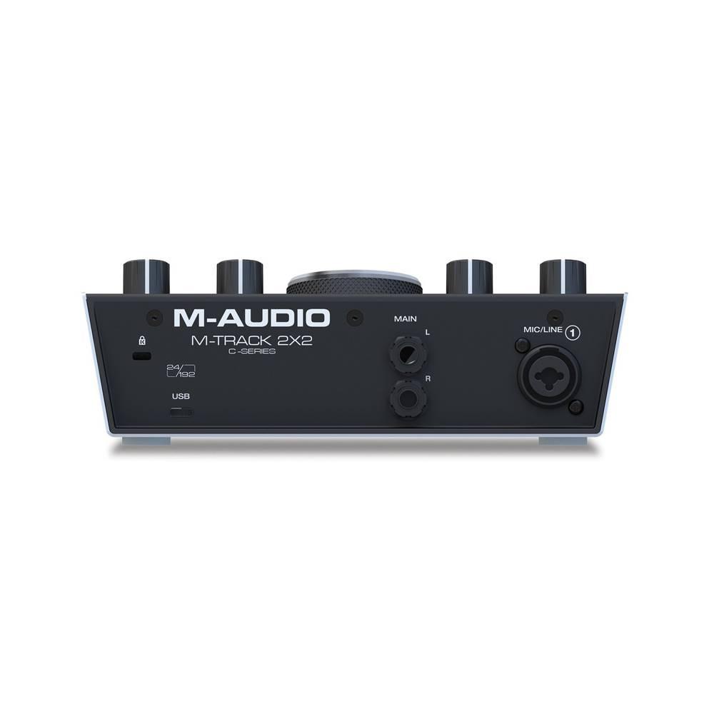 M-Audio M-Track 2x2 Vocal Studio Pro Sound Card Back