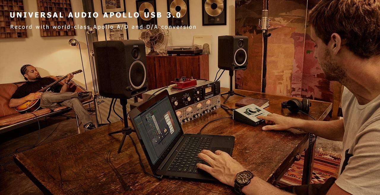 Universal Audio Apollo Twin DUO USB Content