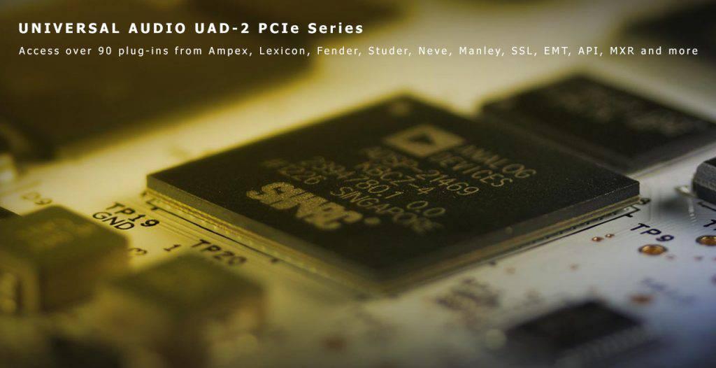 Universal Audio PCIe Series Content