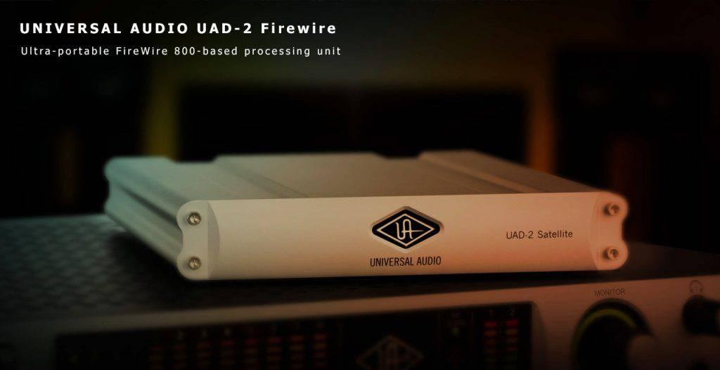 Universal Audio UAD-2 Satellite Firewire Content