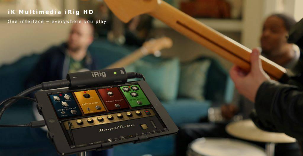 iK Multimedia iRig HD Content