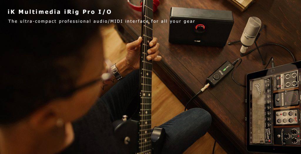 iK Multimedia iRig Pro I/O Content