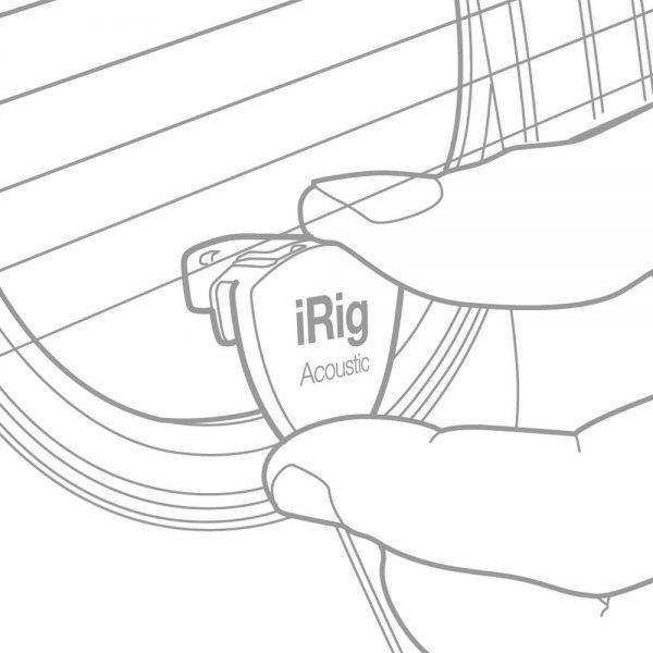 iK Multimedia iRig Acoustic Setup