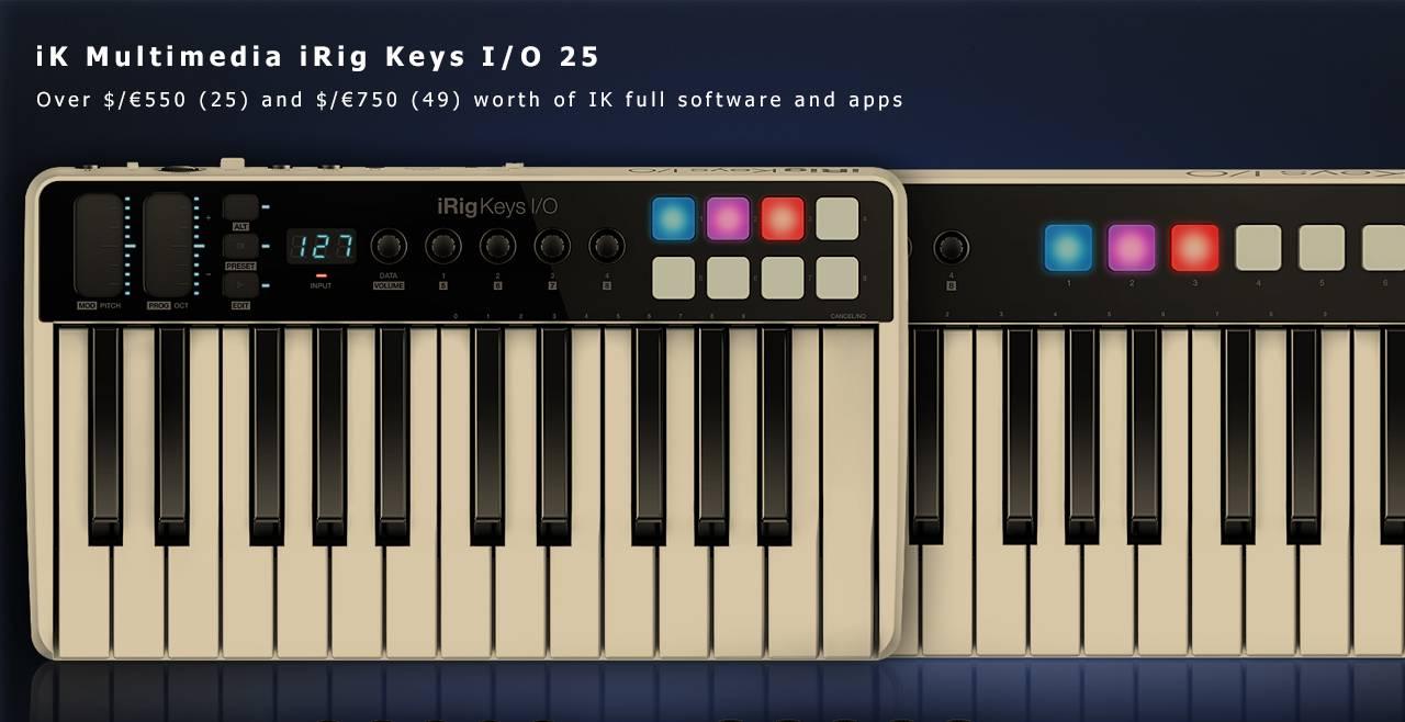 iK Multimedia iRig Keys I/O 25 Content