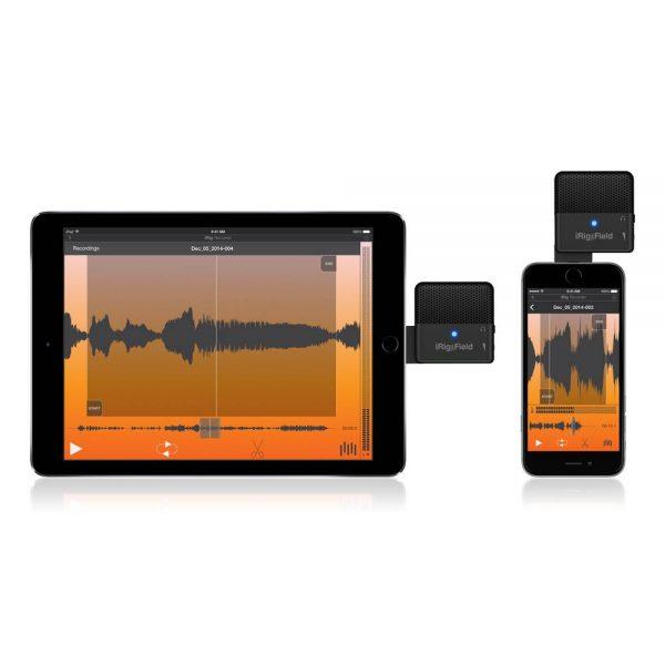 iK Multimedia iRig Mic Field iPhone & iPad