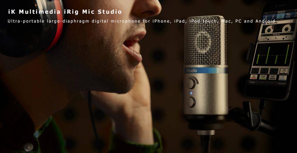iK Multimedia iRig Mic Studio Content