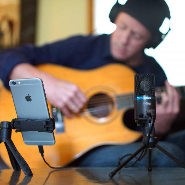 iK Multimedia iRig Mic Studio Guitar Black