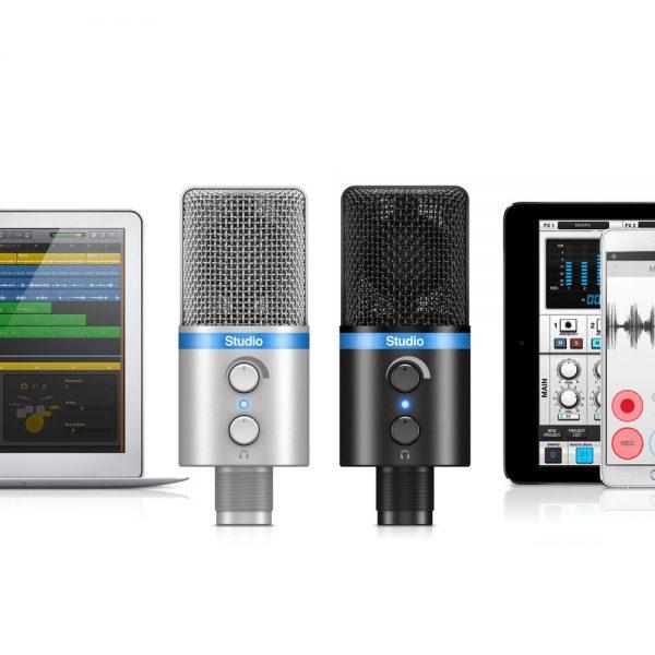 iK Multimedia iRig Mic Studio Mac & iPad & Android