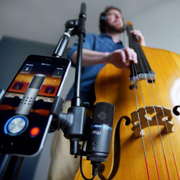 iK Multimedia iRig Mic Studio Upright Bass