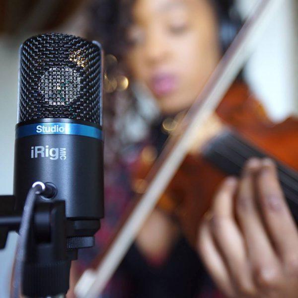 iK Multimedia iRig Mic Studio Violin