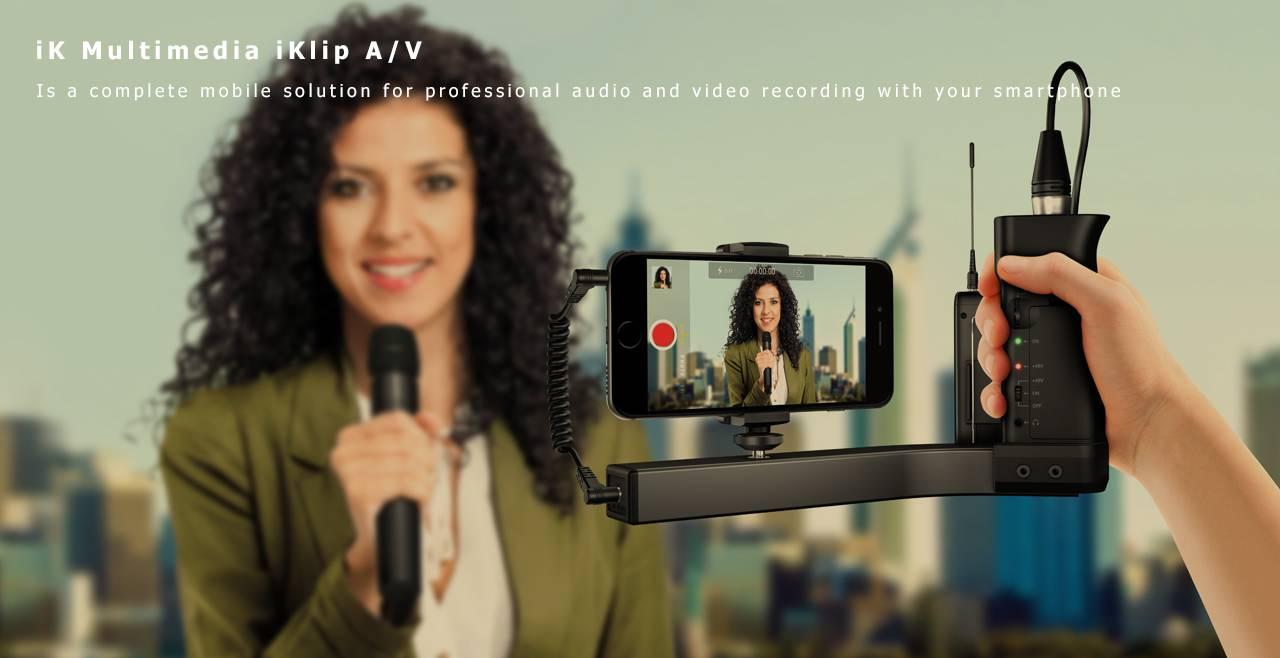 iK Multimedia iKlip A/V Content
