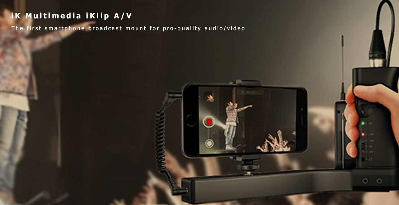 iK Multimedia iKlip A/V More
