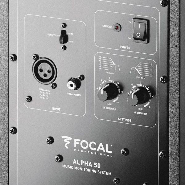 Focal Alpha 50 Zoom Back
