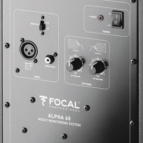 Focal Alpha 65 Zoom Back