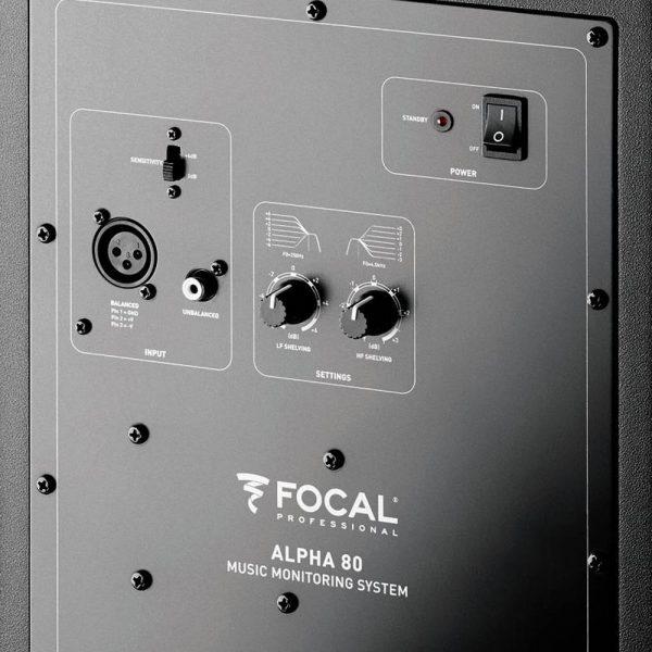 Focal Alpha 80 Zoom Back