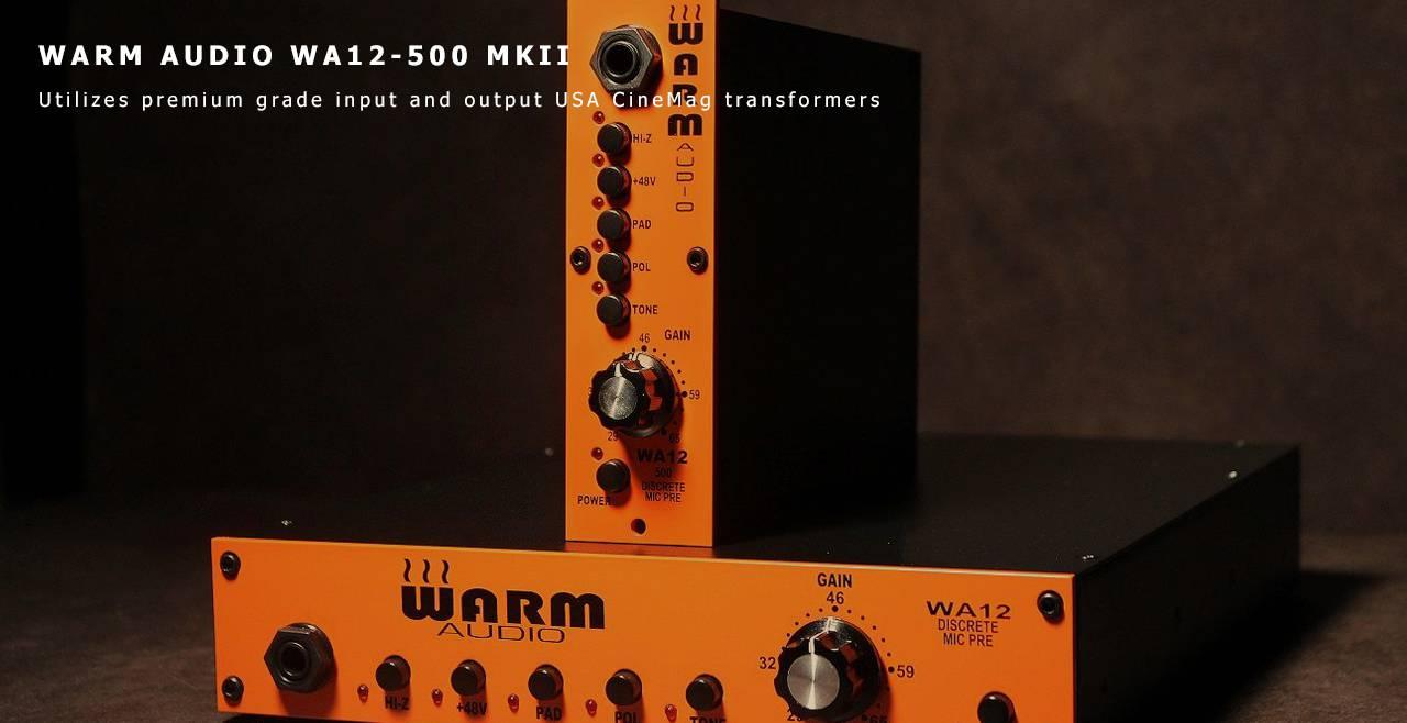 WARM AUDIO WA12-500 MKII Content