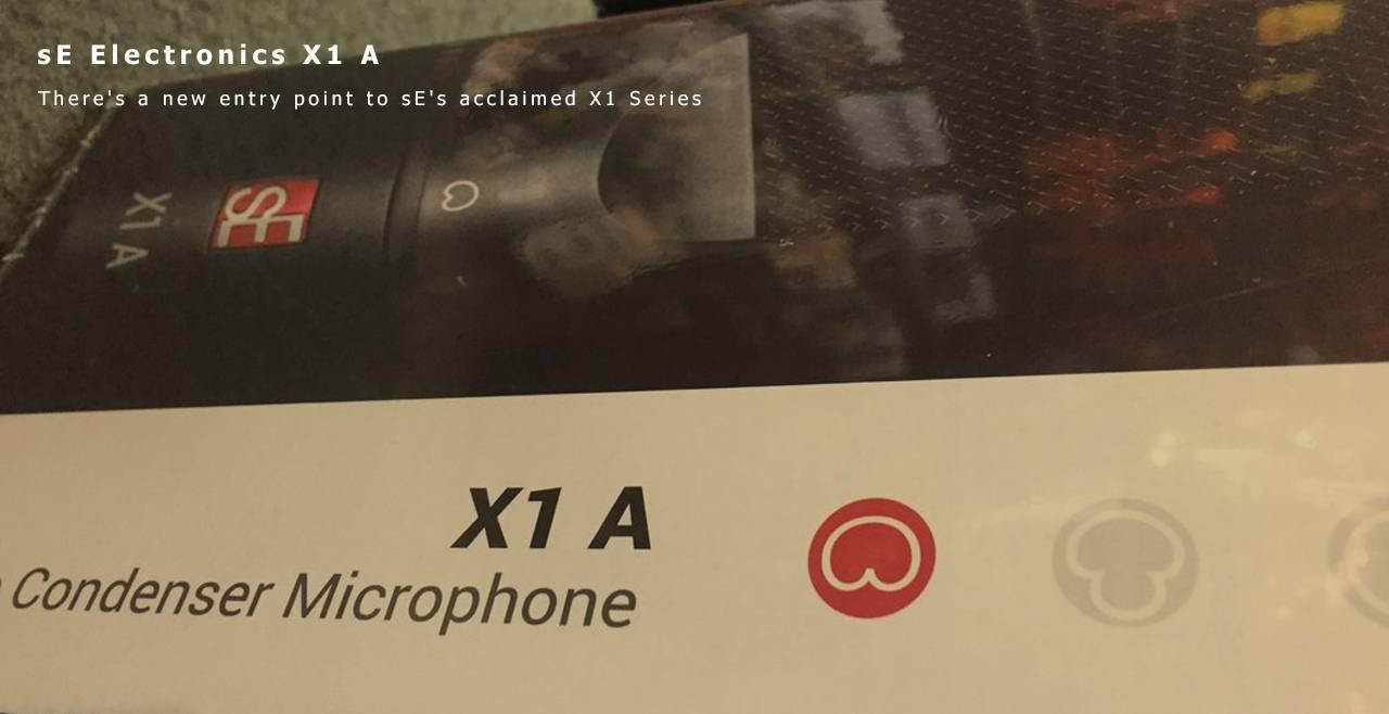 sE Electronics X1 A More