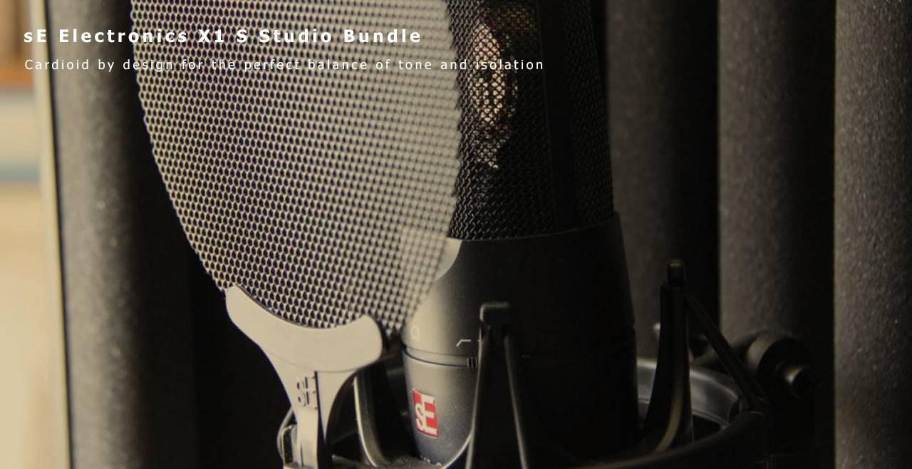 sE Electronics X1 S Studio Bundle More