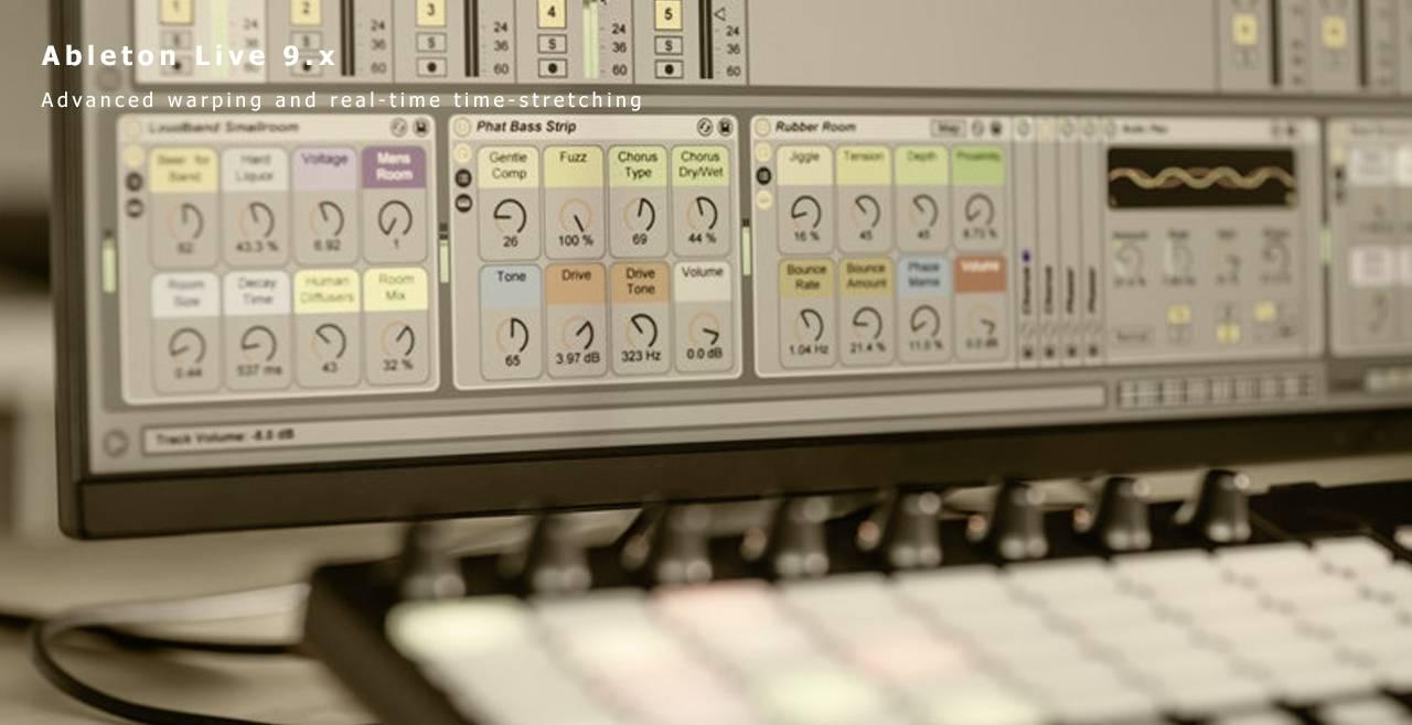 Ableton Live 9.x Suite More