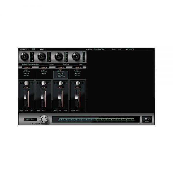 Antelope Audio Discrete 4 Control Panel