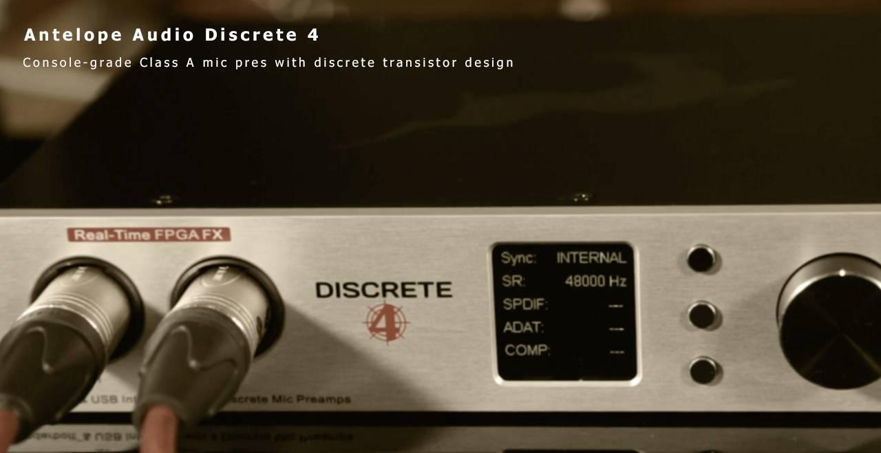 Antelope Audio Discrete 4 More