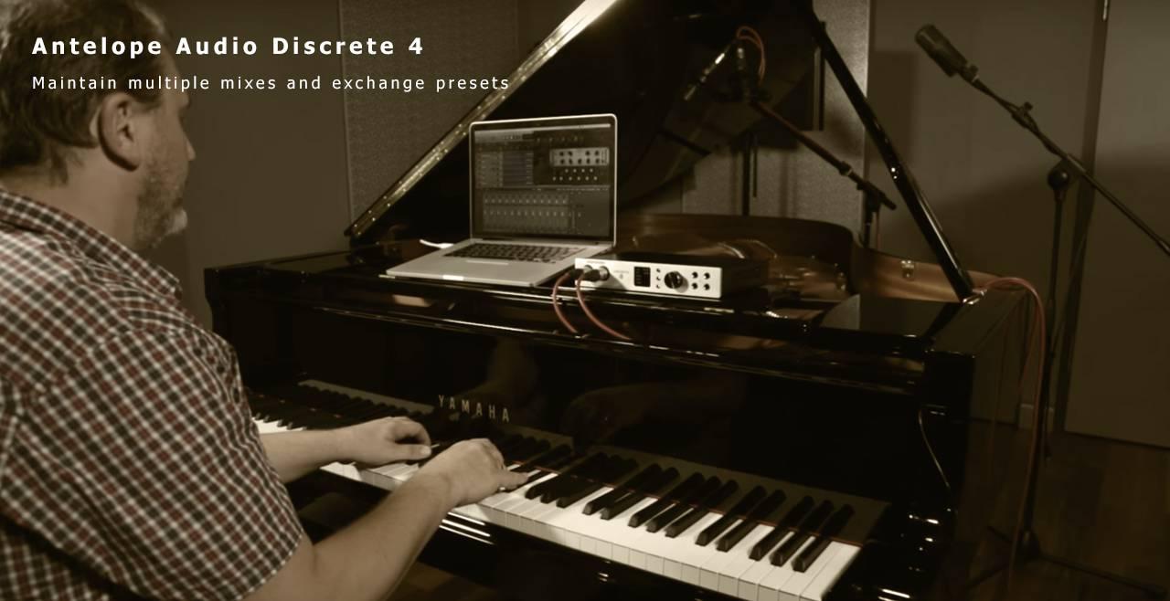 Antelope Audio Discrete 4 More5
