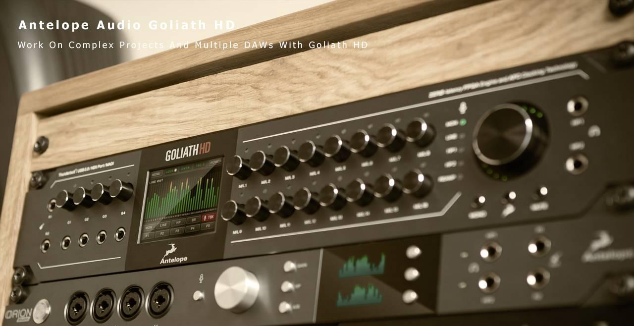 Antelope Audio Goliath HD More1