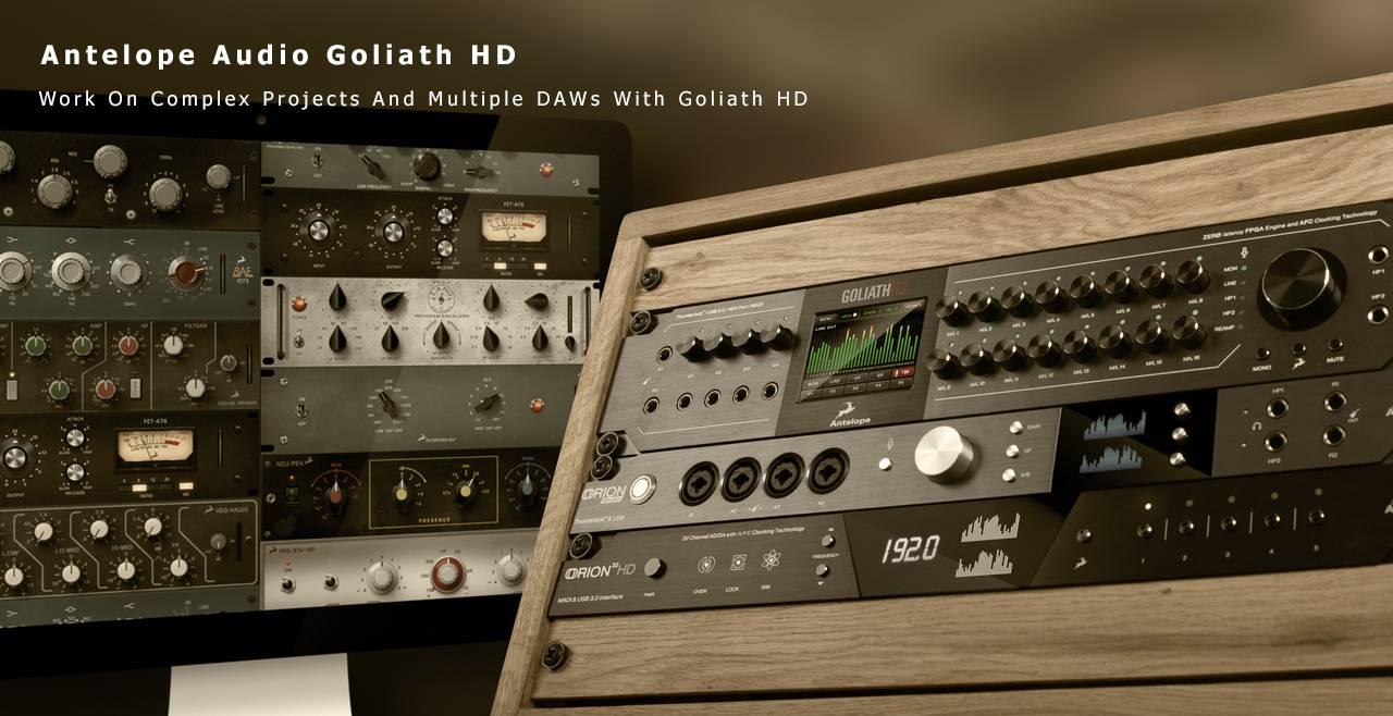 Antelope Audio Goliath HD More2