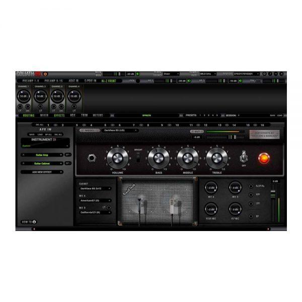 Antelope Audio Goliath HD Software