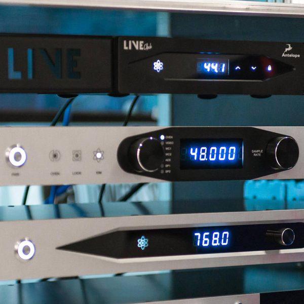 Antelope Audio Live Clock Rack