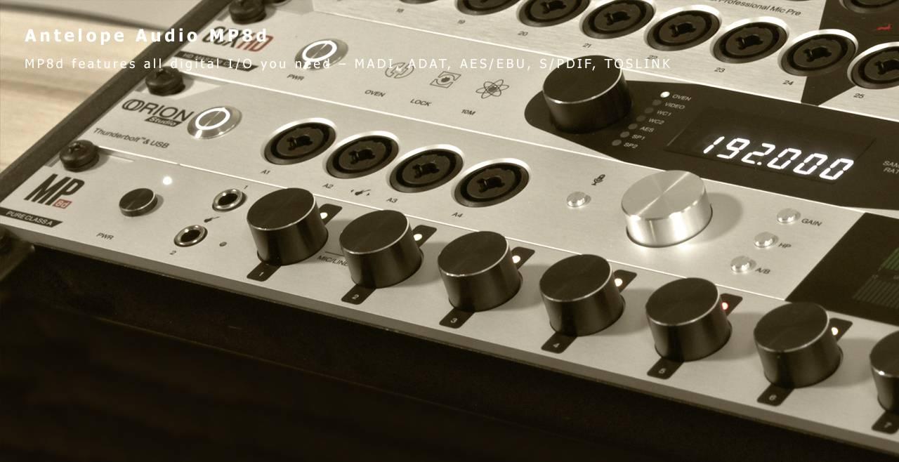 Antelope Audio MP8d Content