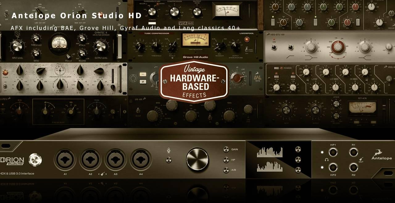 Antelope Audio Orion Studio HD Content