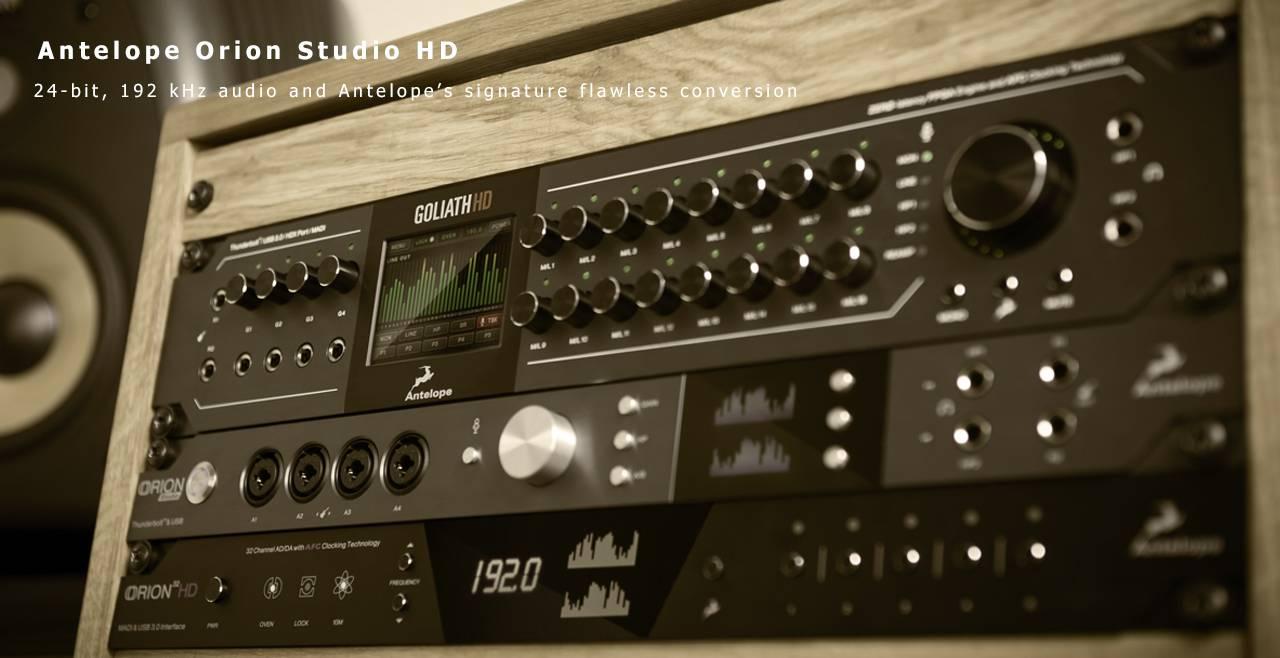 Antelope Audio Orion Studio HD More