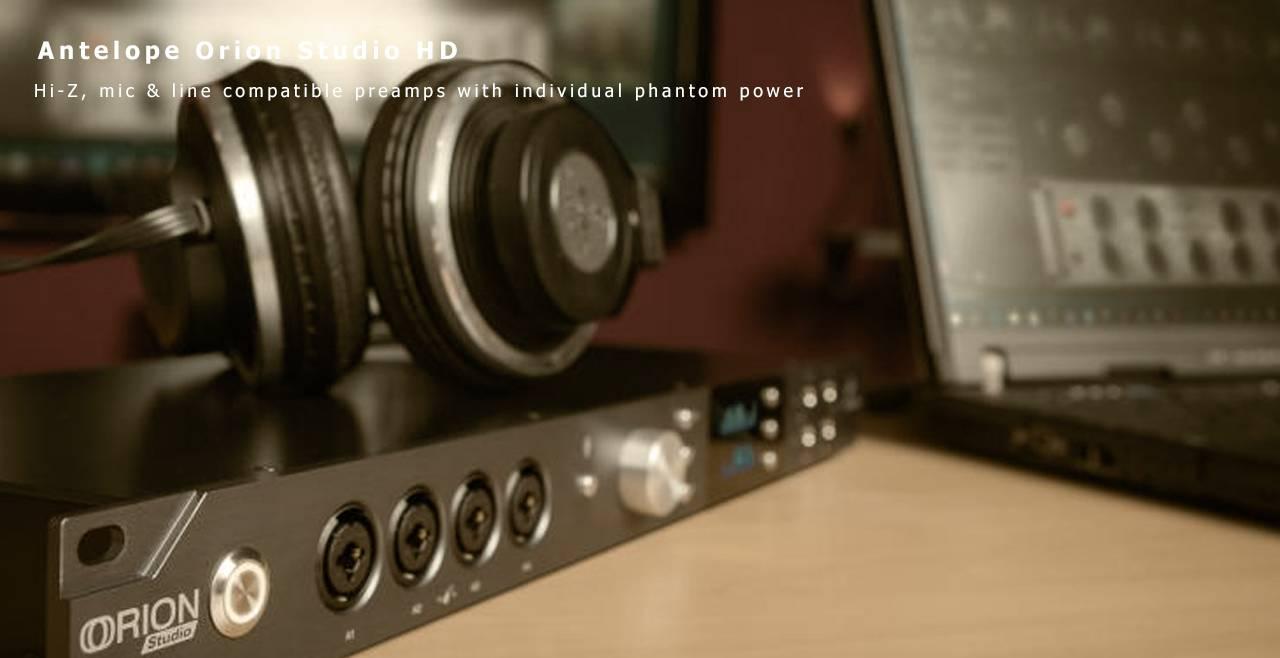 Antelope Audio Orion Studio HD More2