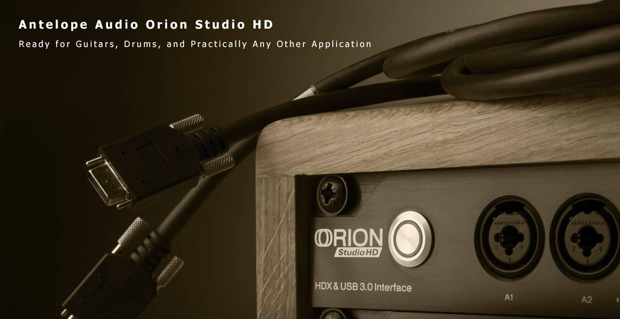 Antelope Audio Orion Studio HD More3