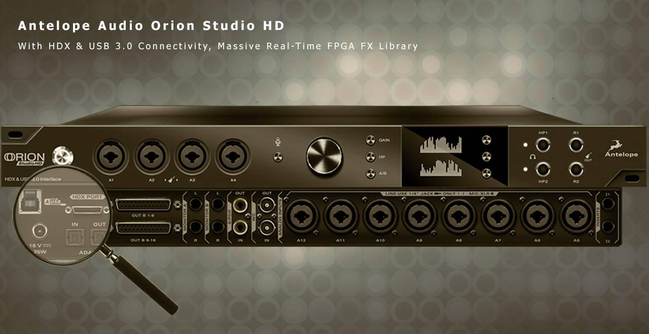 Antelope Audio Orion Studio HD More5