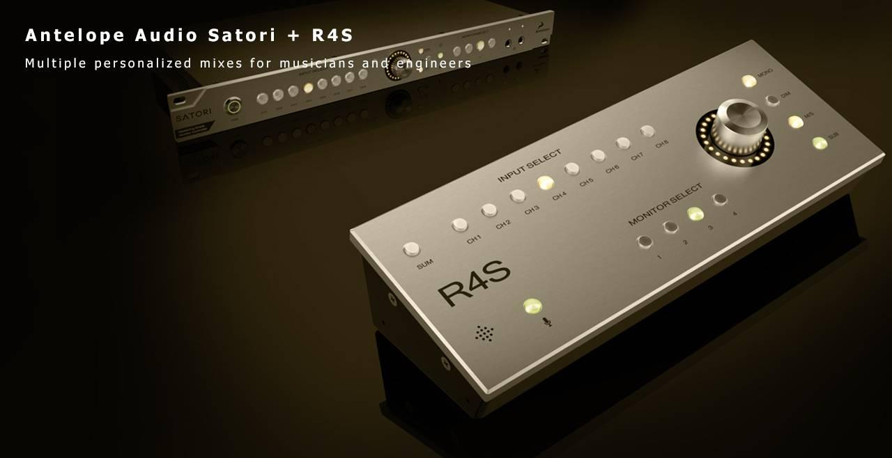 Antelope Audio Satori + R4S More