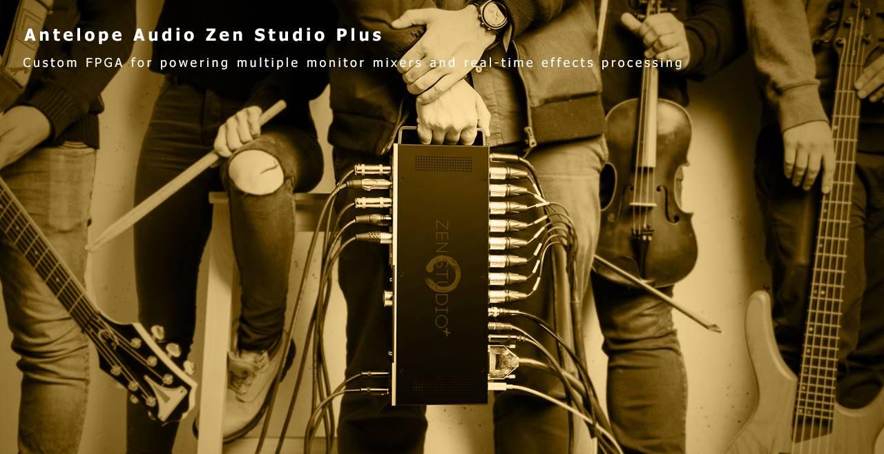 Antelope Audio Zen Studio+ Content