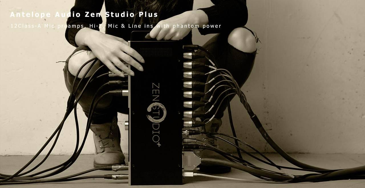 Antelope Audio Zen Studio+ More