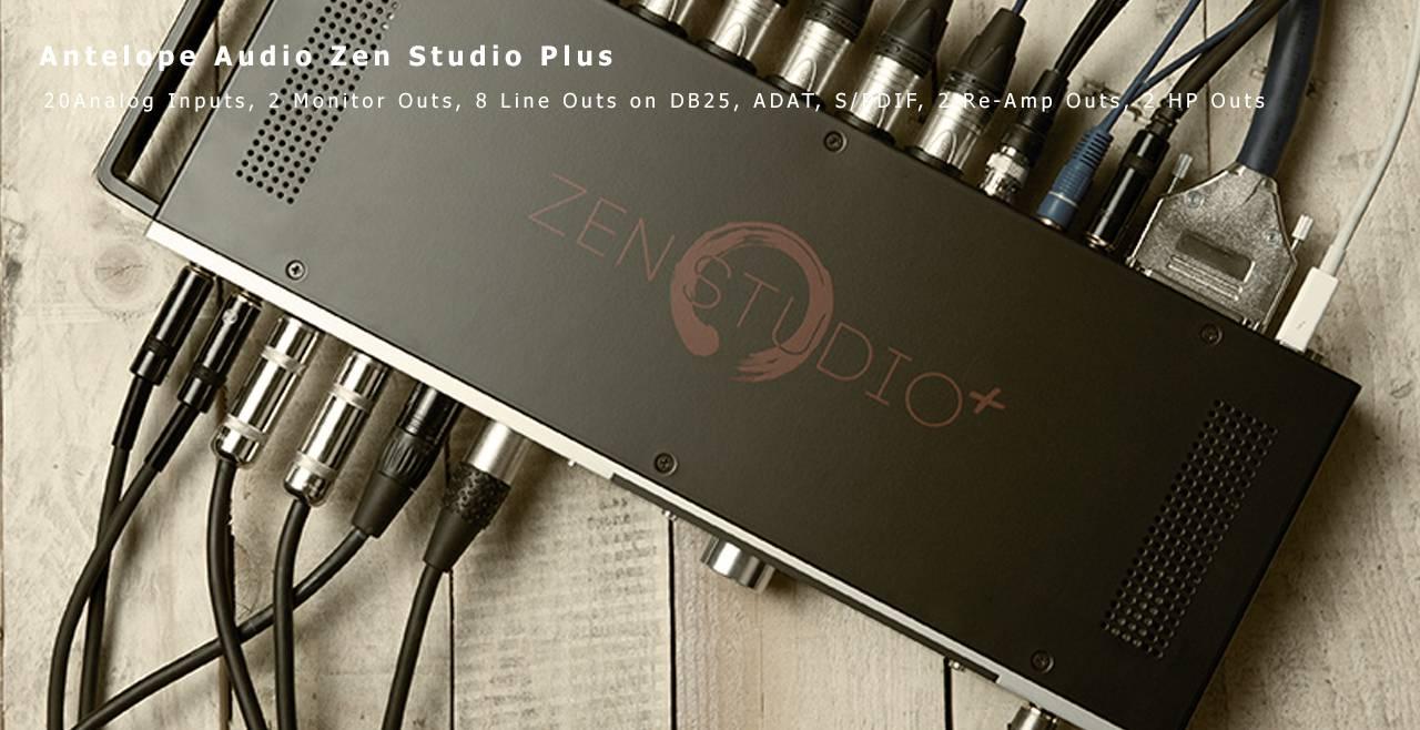 Antelope Audio Zen Studio+ More1